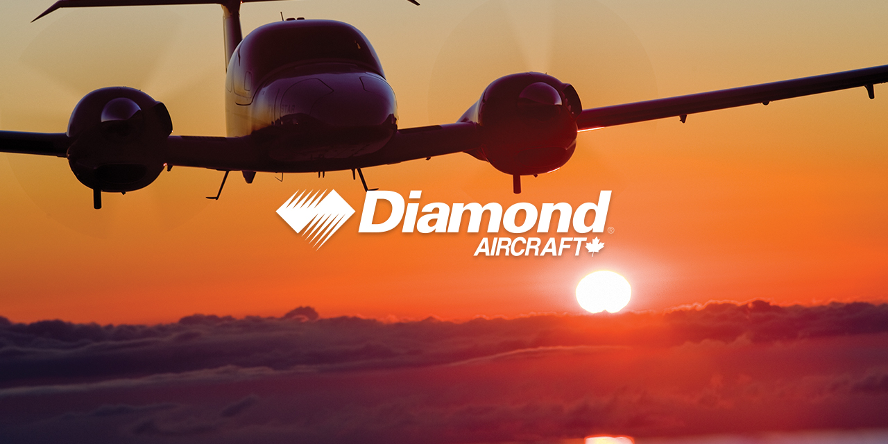 Diamond Aircrafts DA42 Airplane